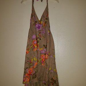 Flowy Halter Dress